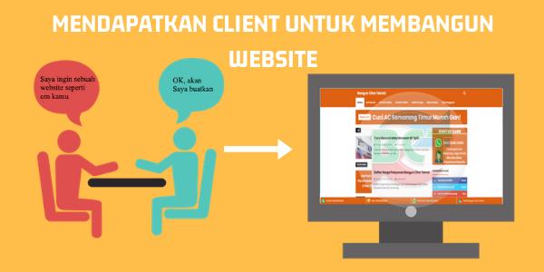 Mendapatkan Client Untuk Membangun Website