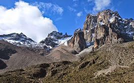 Kere-Nyaga also known as Mount Kenya is a place for prayers and scarifies.