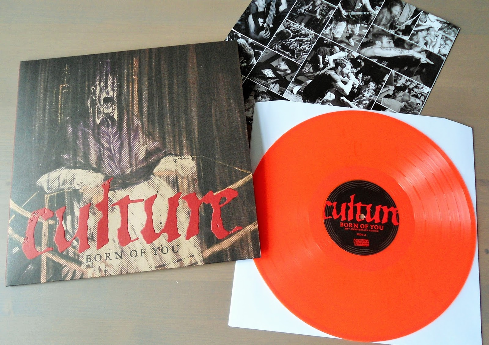 hardcore/metal vinyl: culture - born of you 20th anniversary