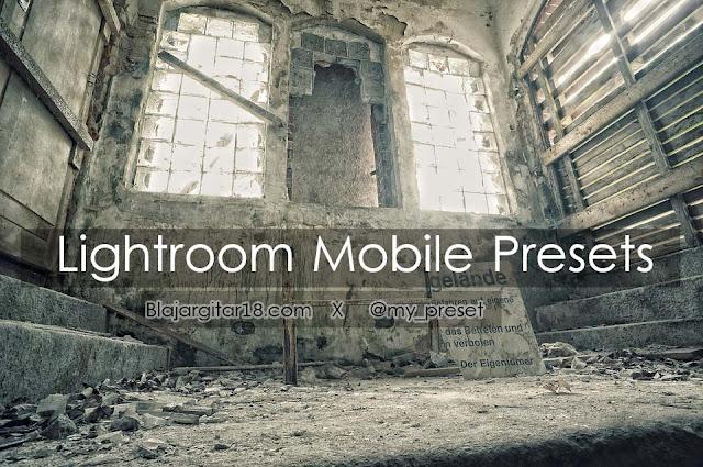 Preset Lightroom Android