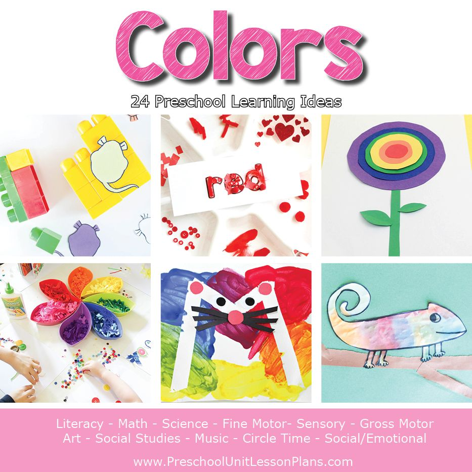 Colors Preschool Theme