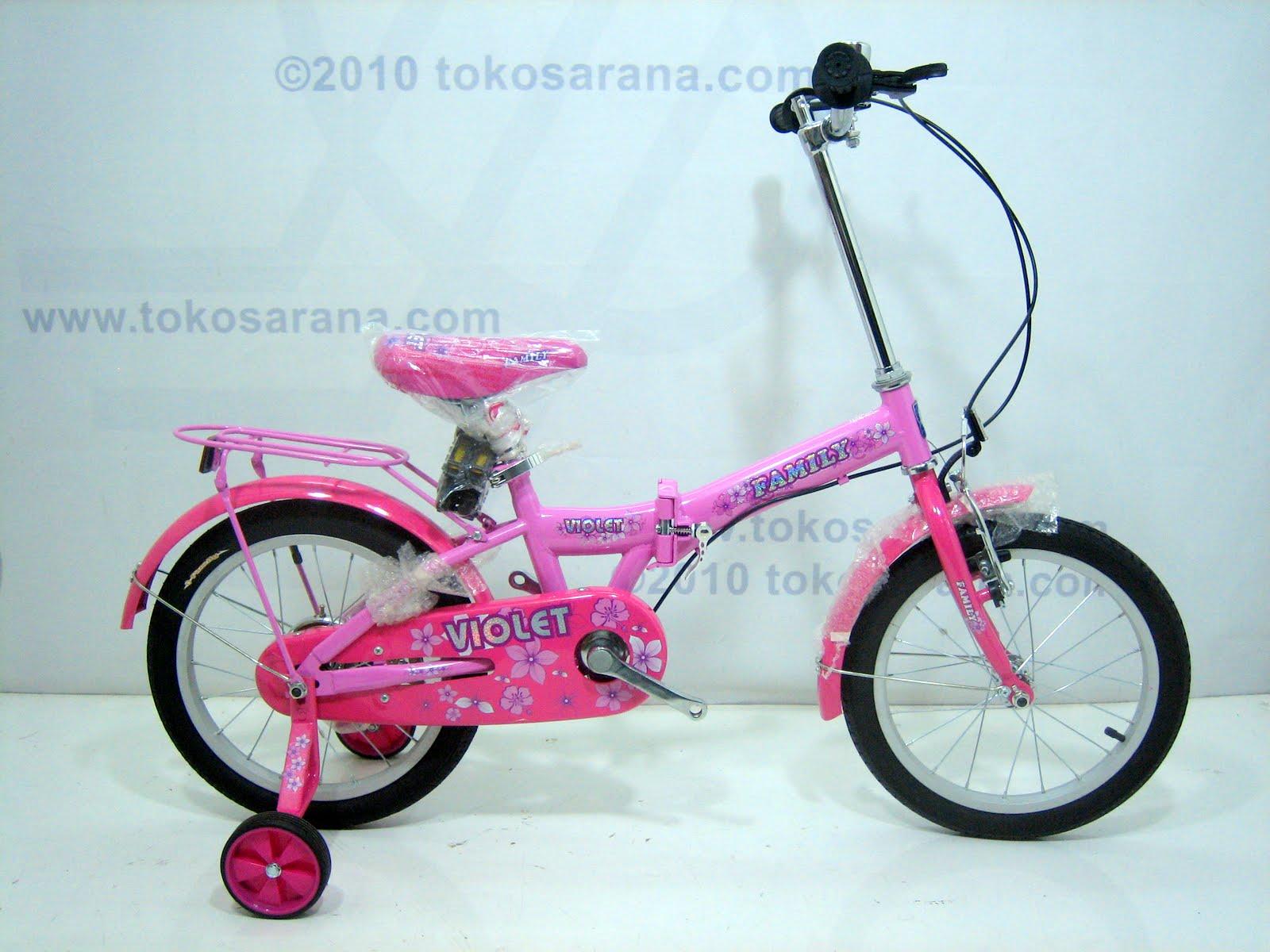 tokosarana™ | Mahasarana Sukses™: Sepeda Lipat Anak Family