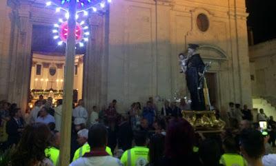 Conclusi i festeggiamenti del Celeste Patrono Sant'Antonio di Padova a Ceglie Messapica 4