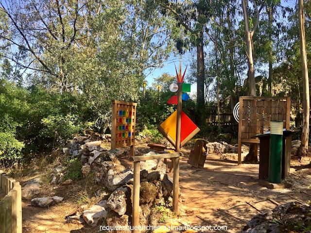 PIA DO URSO, Eco-Parque Sensorial, Estação Ludica