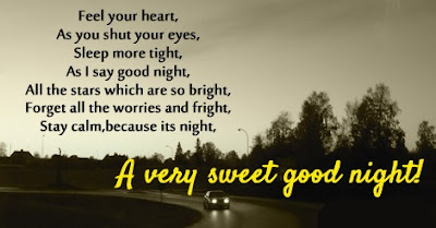 Good Night Poems For Love
