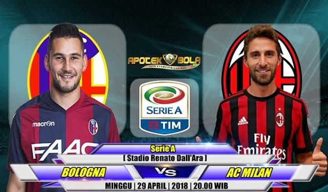 Prediksi Bologna vs AC Milan 29 April 2018