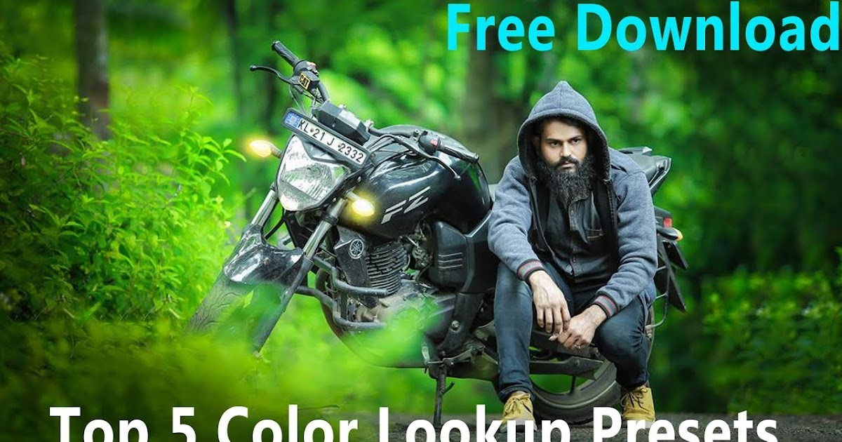 Download free top 5 color lookup-3D LUTs presets for