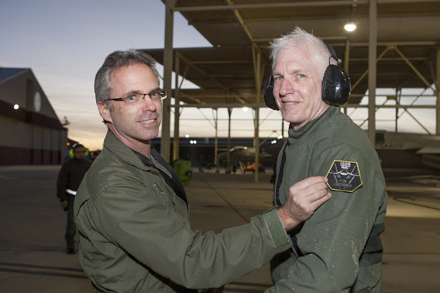 LOCKEED MARTIN TEST PILOT REACHES 1000 FLIGHT HOURS IN F35 JSF