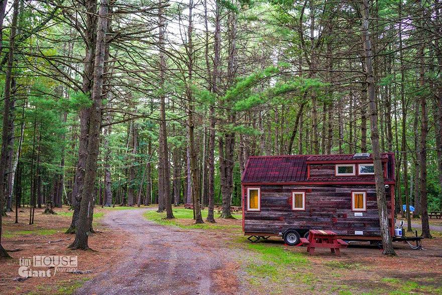 Casa o cabaña en el bosque