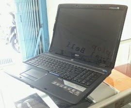 jual laptop 2nd acer aspire 7530