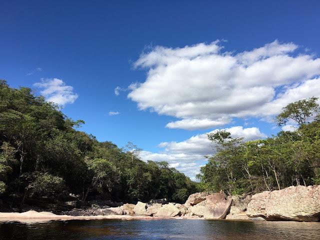 Ribeirão de cima - Chapada Diamantina