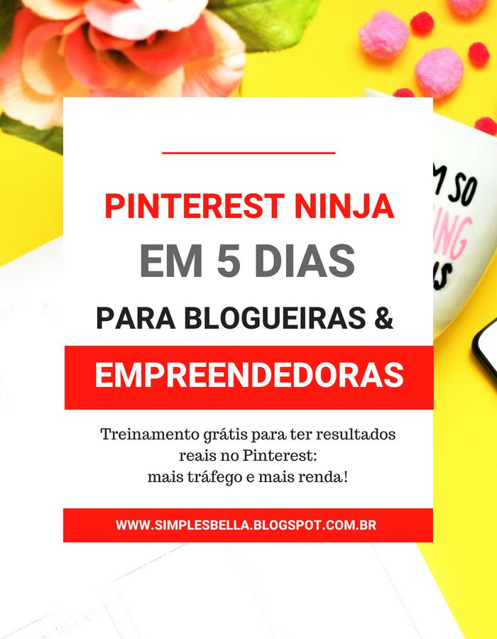 Desafio Pinterest Ninja em 5 Dias - Para ter resultados reais!