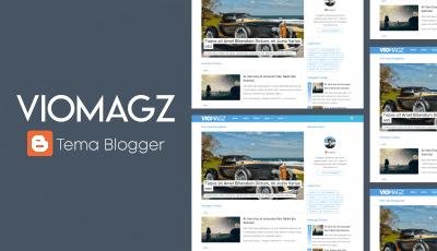 VioMagz v3.3 Premium Blogger Template