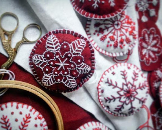 Christmas Embroidery Workshops