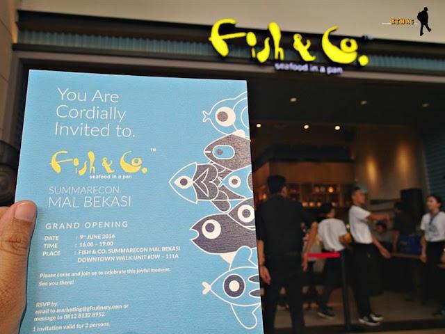Yeaay! Ada Fish & Co. di Summarecon Mall Bekasi