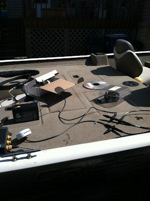 Lowrance HDS, NMEA, GPS, installation