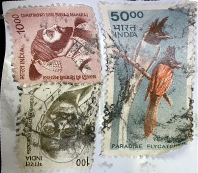 Postage Stamps from India