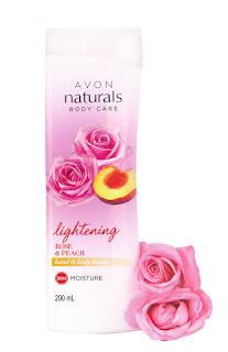 AVON Naturals Rose and Peach Whitening Hand & Body Lotion_ MRP 249