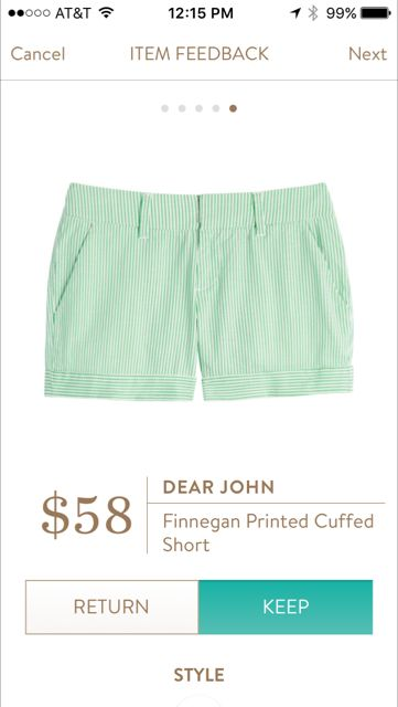 Dear John Finnegan Printed Cuffed Short