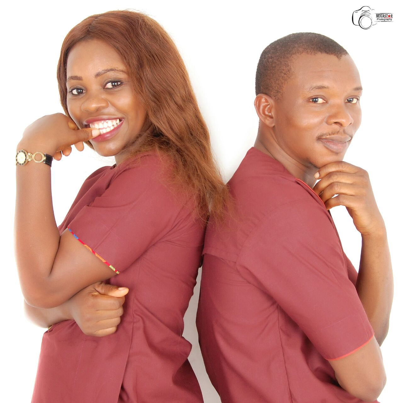 Images of Eseoghene and Isioma