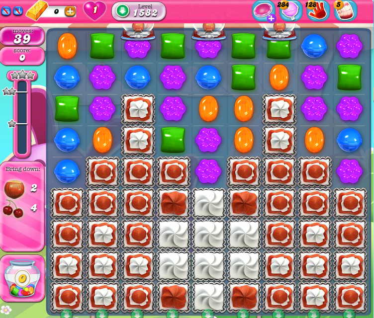 Candy Crush Saga 1582