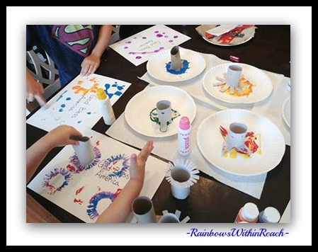 Art Process Painting with Young Children