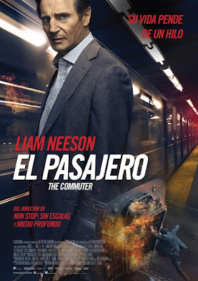 The Commuter 2018 DVD R1 NTSC Latino