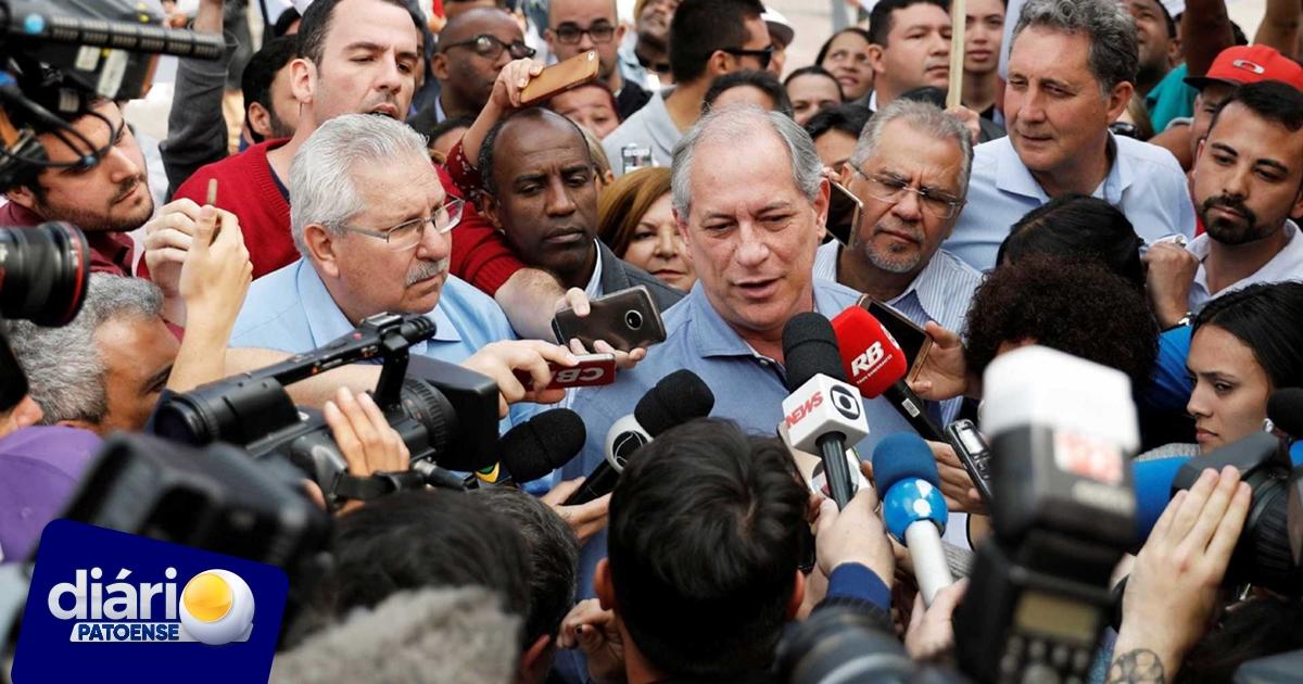 VÍDEO: Ciro se irrita e xinga interlocutor durante campanha em Roraima
