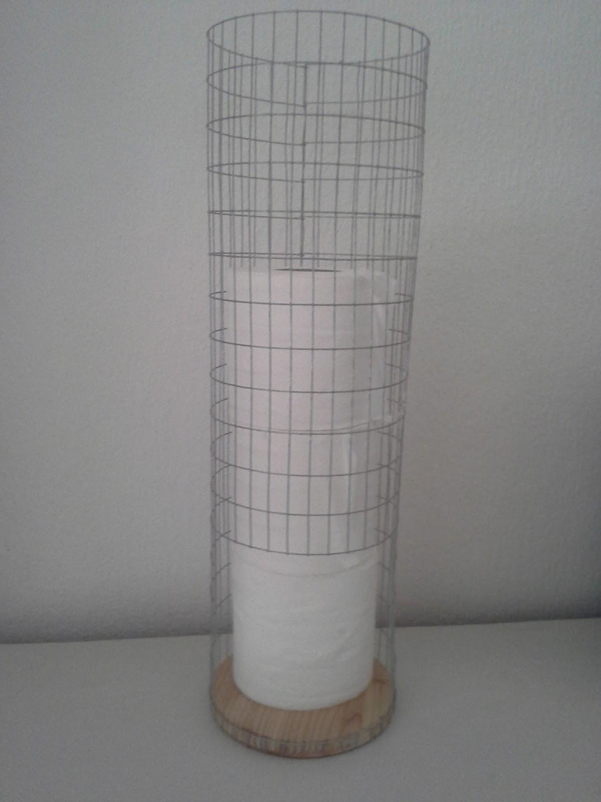 Fantastisk Flinks Hobby: Toiletrulleholder af voliernet SG09