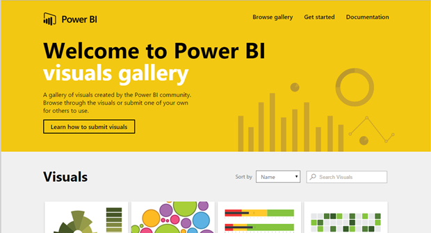 Jessica M  Moss: Using Power BI Custom Visualizations
