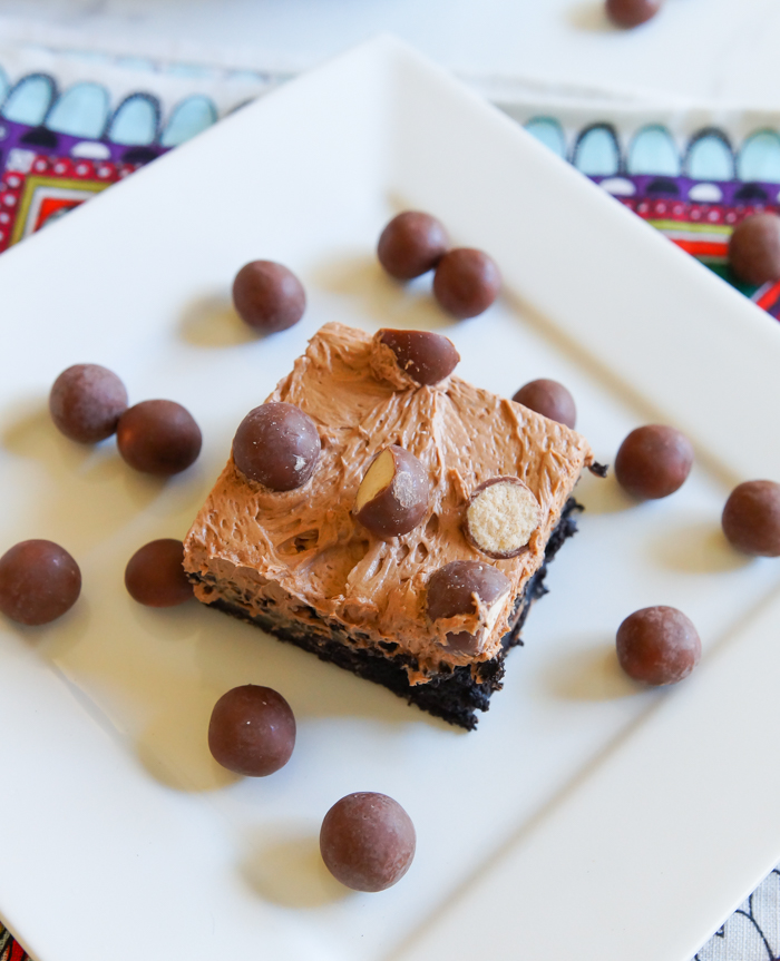 Whoppers Malted Brownies