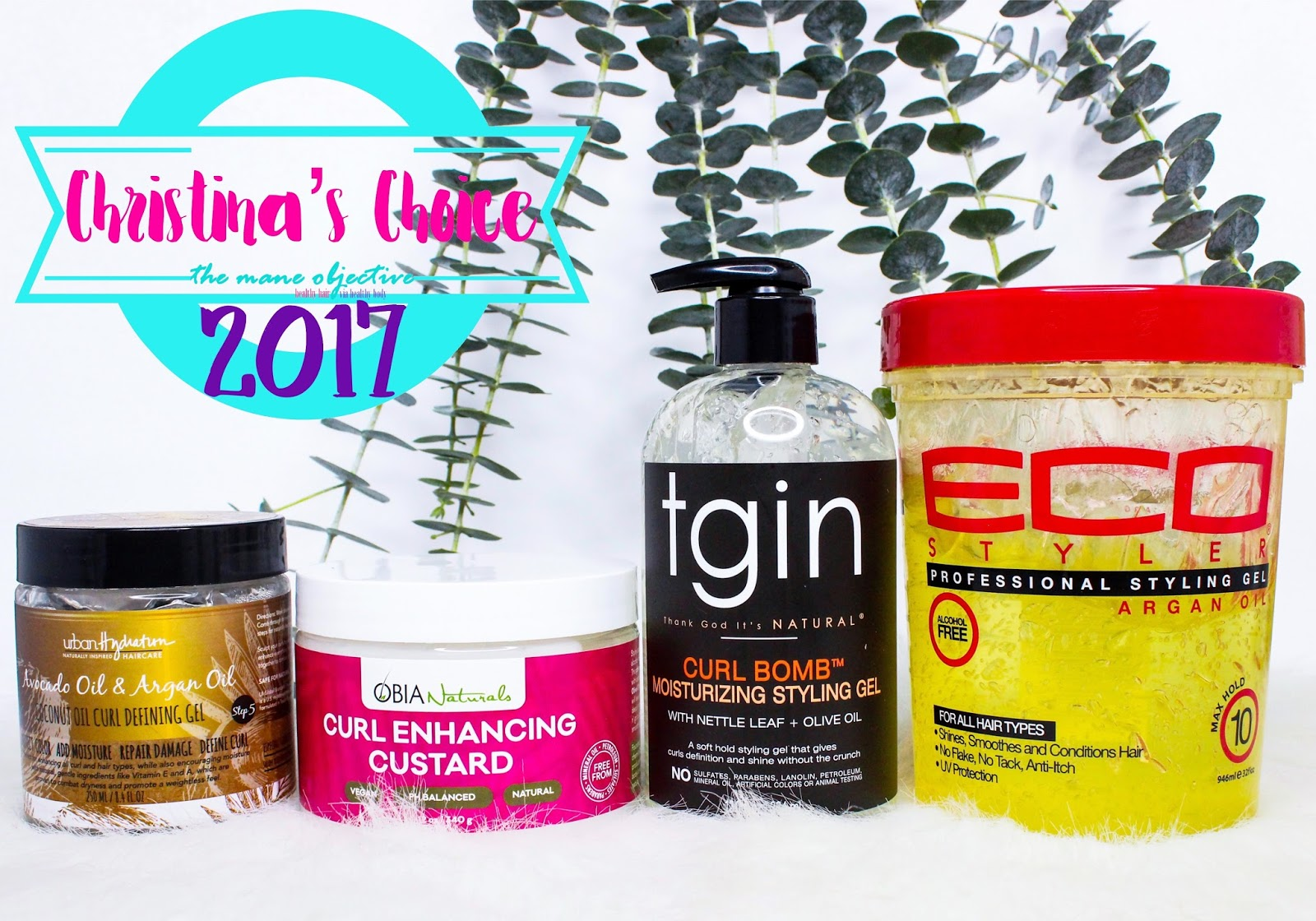 Natural Hair Styling Gel: The Mane Objective: Christina's Choice 2017: Best Curl