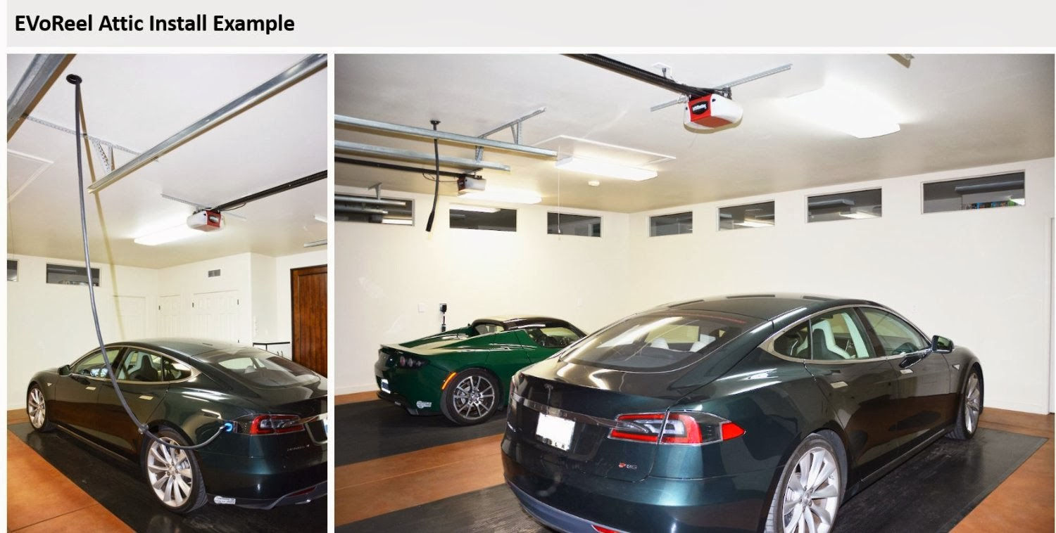 Cars With Cords Ceiling Mounted Evse Extender