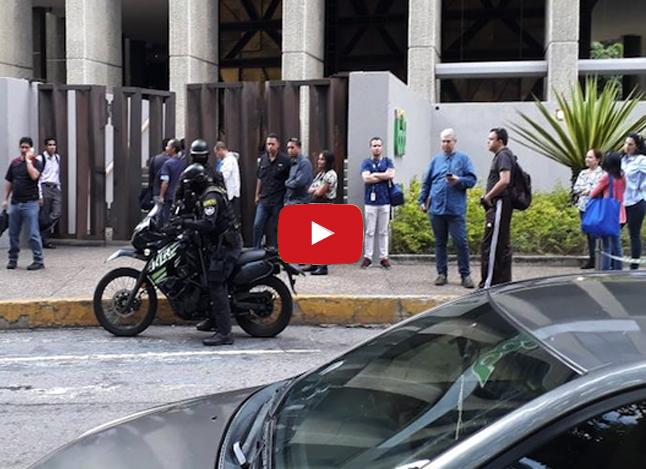 Policías de la dictadura tomaron la sede del BOD de La Castellana