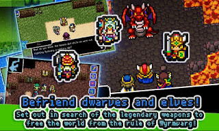 RPG Dragon Sinker Apk v1.1.0g Mod (Unlimited Money/Premium/Patched)