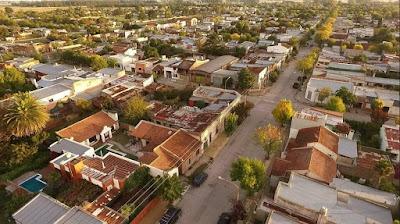 Ayacucho Provincia de Buenos Aires desde el aire