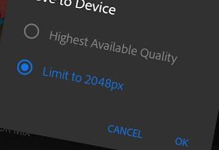Cara Export Gambar Dari Lightroom Ke Galeri Android