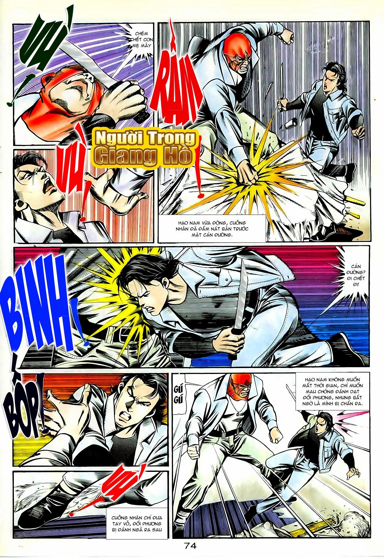 Người Trong Giang Hồ chapter 86: săn báo trang 17