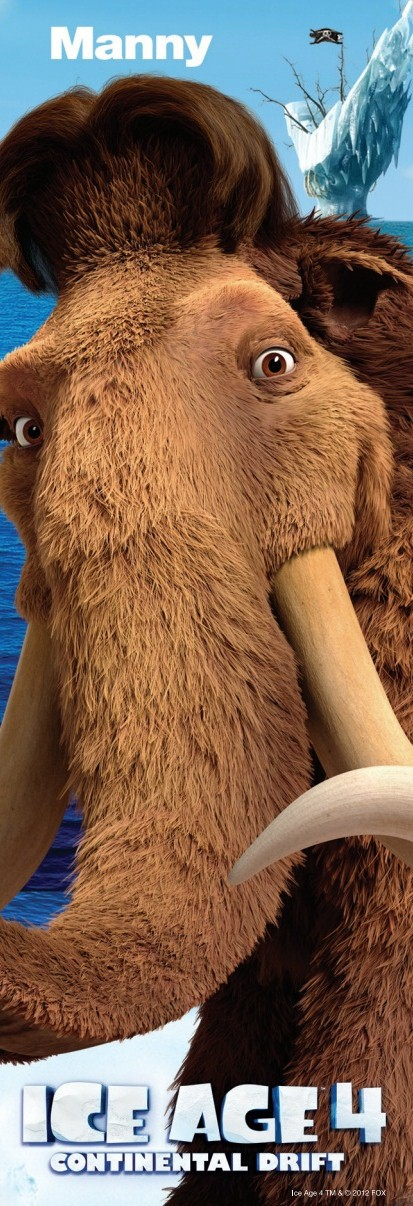 Ice Age 4 Continental Drift New Clips and Posters : Teaser ...