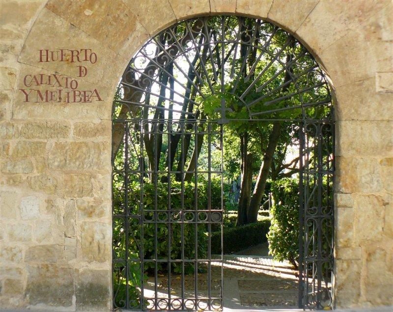 El huerto de calixto y melibea - Jardin de calisto y melibea salamanca ...