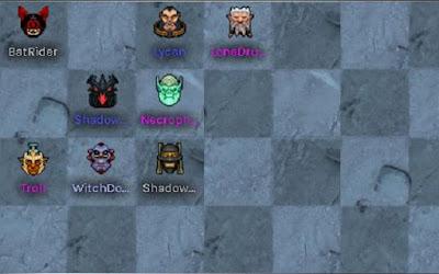 Đội hình 4 Troll - 3 Warlock - 2 Beast có thể áp dụng ở giai đoạn giữa trận