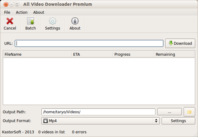 All Video Downloader - Aplikasi Video Download di Internet Untuk Linux/OSX/Windows