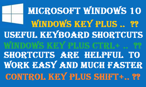 http://www.wikigreen.in/2020/02/windows-10-important-shortcuts-and.html