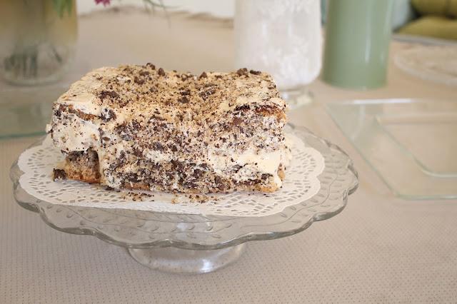 IMG 2768 - עוגת אגוזים וקרם מוקה משגעת לפסח