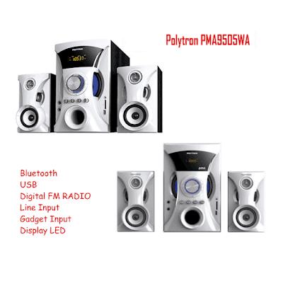 Harga Speaker Polytron PMA 9505