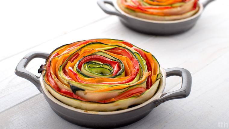 Zakręcona zapiekanka jaglana wegańska bezglutenowa roślinna kulinarny blog
