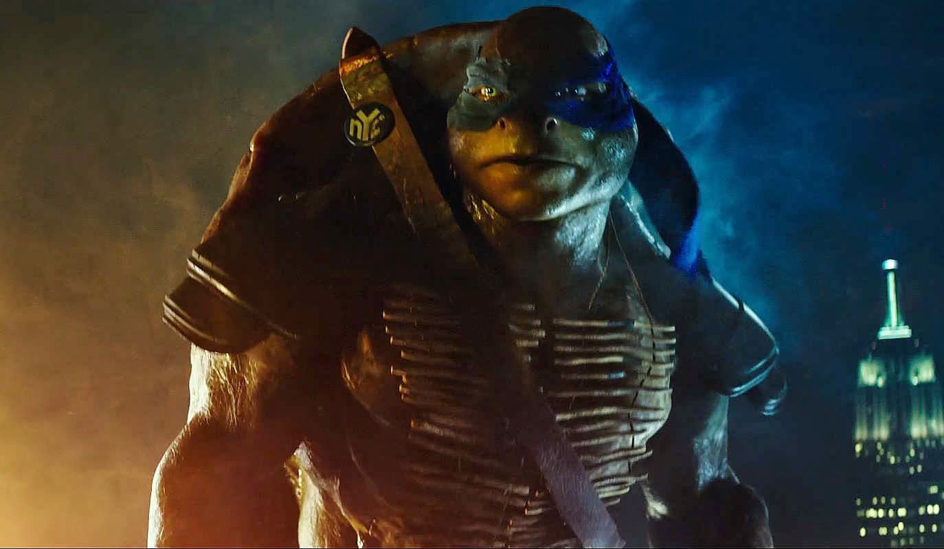 TMNT 2014 Johnny Knoxville Leonardo