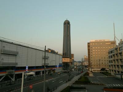 kaikan yume tower next to the hotel