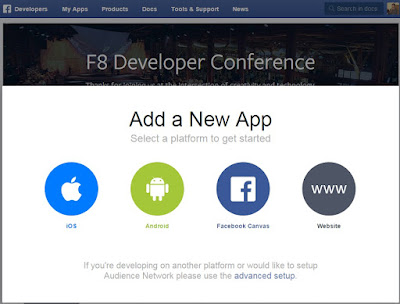Facebook Website Application