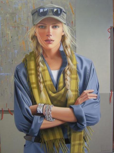"""Canadian Artist- """"Ginette Beaulieu"""" 1954"""